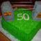 Villanyoszlop torta