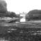 A régi Rajkai zsilip az 1970-es években, kisvizes időszakban