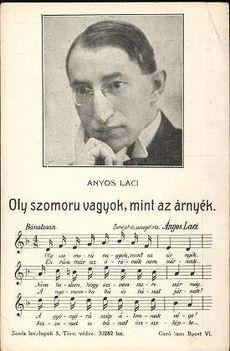 ÁNYOS  LACI  1881  -  1938 ..