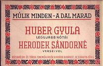 HERÓDEK  SÁNDORNÉ    1880  -  1961 ..