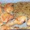 Sült csirkecomb gombás töltelékkel