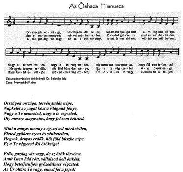 Az Őshaza himnusza
