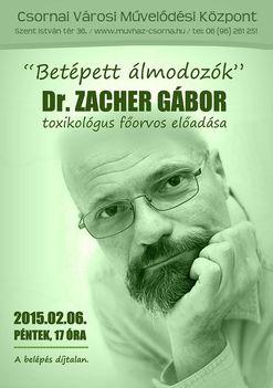 Dr.Zacher Gábor előadása Csornán