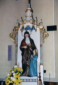FRIVALD Szent Anna oltár