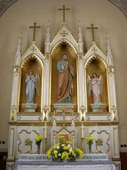 FRIVALD Szent József oltár