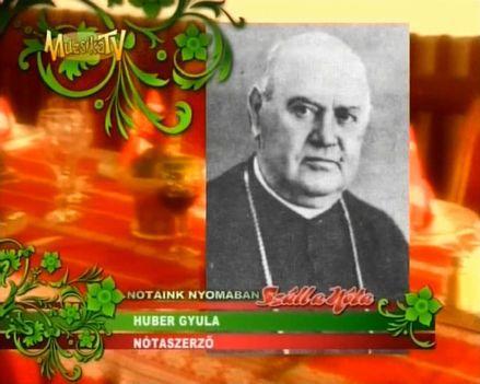 HUBER  GYULA  1861  -  1943 ..