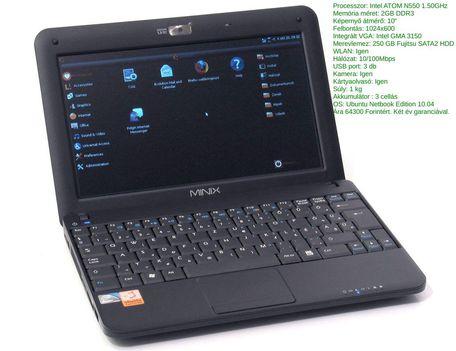 J&W Minix M 1200 netbook