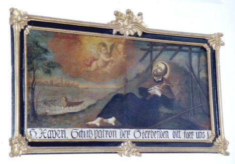 KISBOLDOGASSZONY Xavéri Szent Ferenc