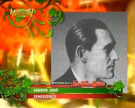 SÁNDOR  JENŐ  1891  -  1976 ..