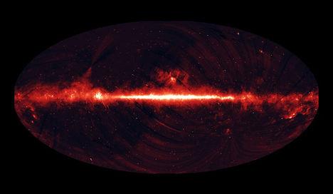univerzum hőtérképe