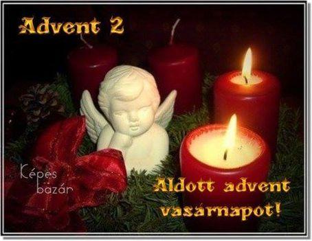 Advent második