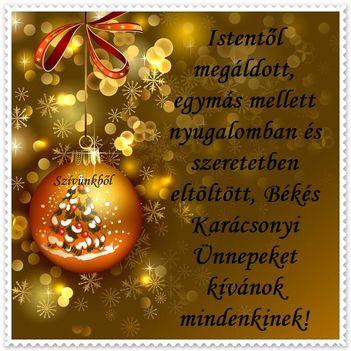 Áldott, Boldog  Karácsonyt!