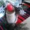 asztali karácsonyi dísz