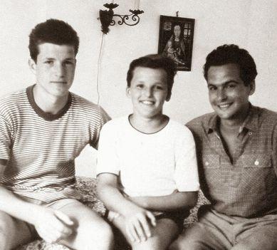 Három testvér - Bujtor István, Frenreisz Károly, Latinovits Zoltán