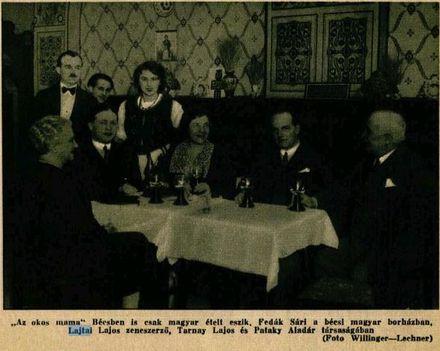 Lajtai Lajos és Fedák Sári