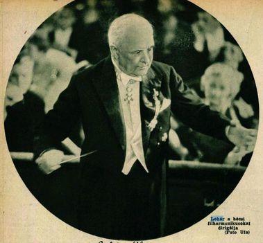 Lehár Ferenc vezényli a bécsi filharmónikusokat