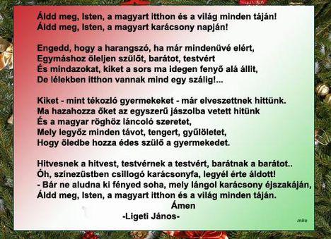 Áldd meg, Isten, a magyart itthon és a világ minden táján!