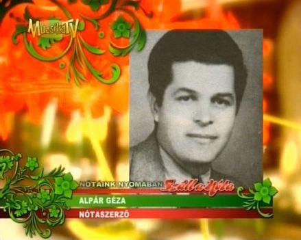 ALPÁR  GÉZA  1911  -  1998 ..