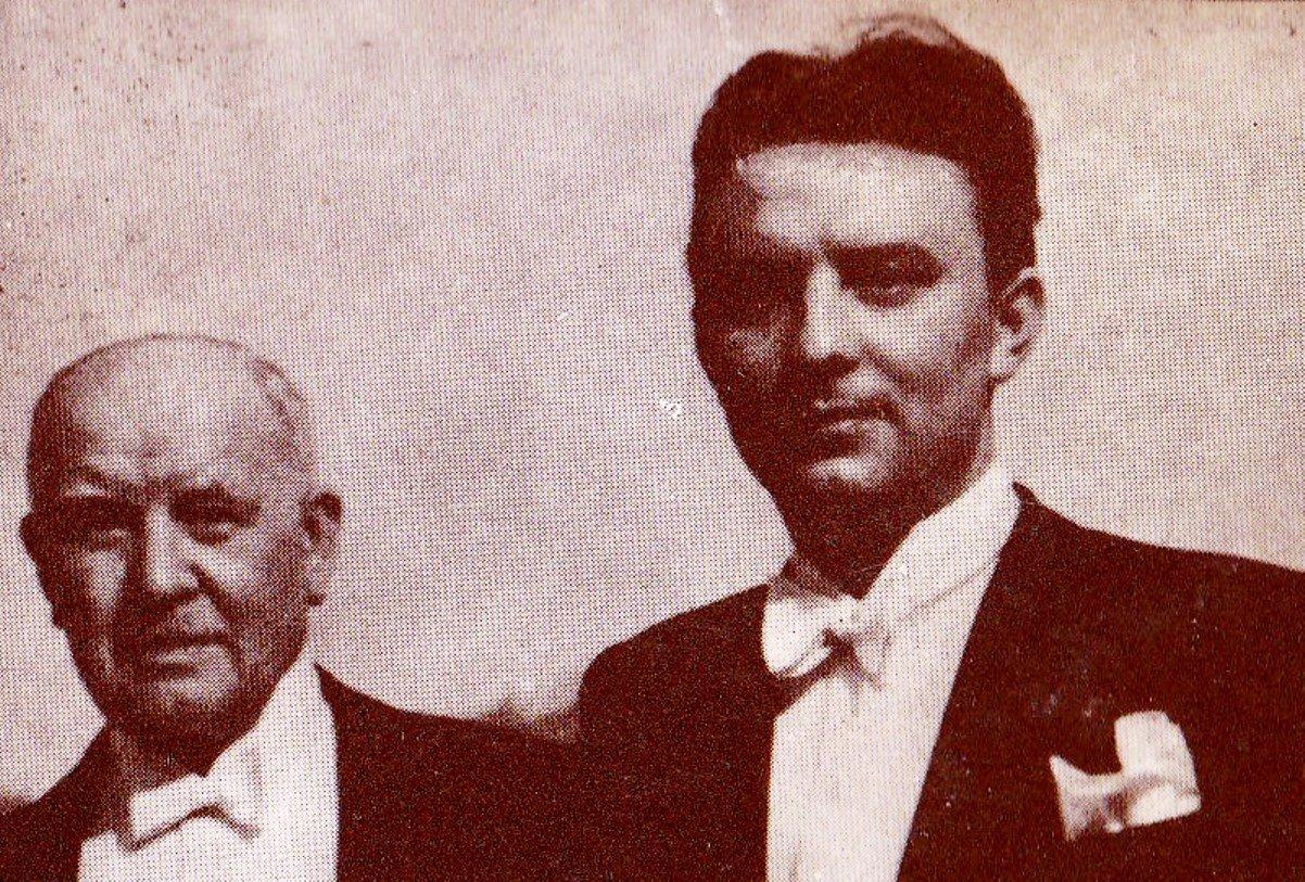 Lehár Ferenc és Udvardy Tibor