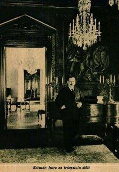 Kálmán Imre íróasztala előtt (1930)