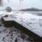 Lajta folyó főmeder 2016 január 06.-án, övzátony a bal parti benádasodott padkán