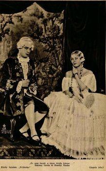 Lehár: Friderika c. operettje (1930)Békássy István és Honthy Hanna