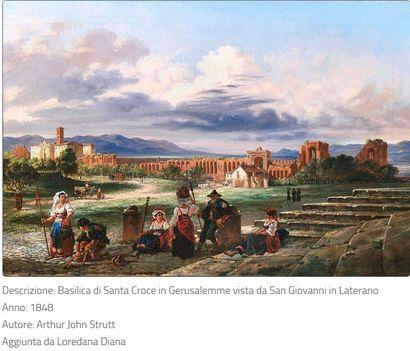 Santa Croce in Gerusalemme Basilica 1848