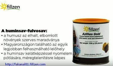 Azteo Gold huminsav fulvosav