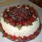 Bocisüti torta egy kis tejszínhabbal