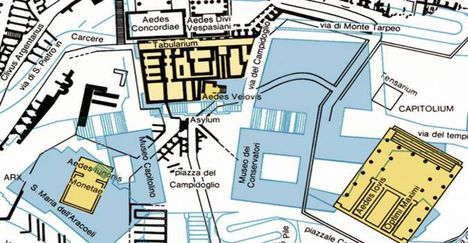capitoliumi múzeumok térkép