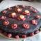 Gluténmentes Sacher torta Ágnesnek