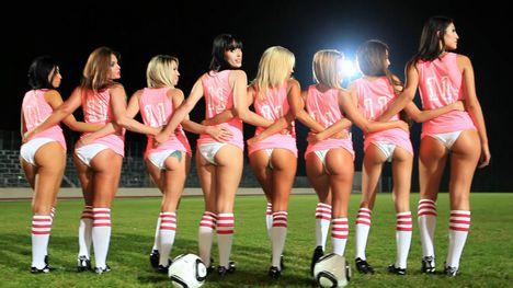 Soccer babes pink team-235