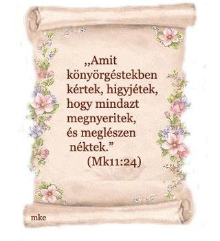 ARANYMONDÁS  A BIBLIÁBÓL