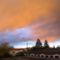 Felhő díszek ragyogása Moson felett 2016. február 04.-én 2