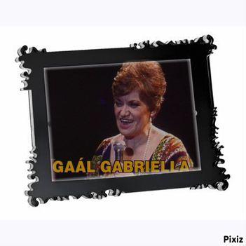 Gaál Gabriella 1930 - 2010