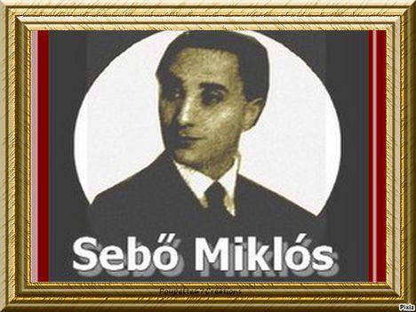 Sebő Miklós 1899 - 1970