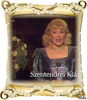 Szentendrei Klára 1939 - 2016