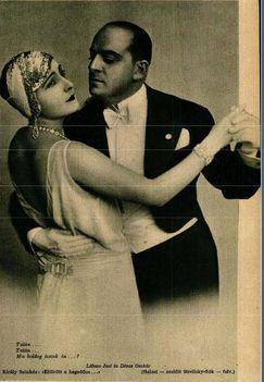 Lábass Juci Dénes Oszkar Zerkovitz Béla: Eltörött a hegedűm c. operettjében (1928)