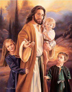 Jézus és gyermek!!!