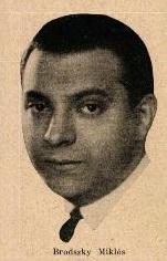 Brodszky Miklós (1929)