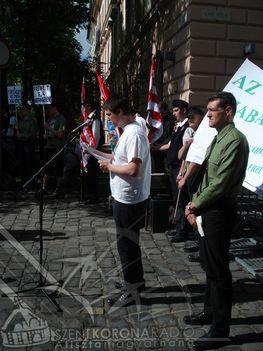 igazság menete Budapest