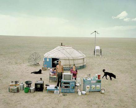 nomád állattartó család élettárgyai