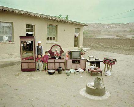 sivatagi család élettárgyai
