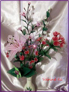 vázában...