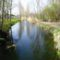 Darnózseli, Hidegkúti (Hédervár-Darnózseli) csatorna belterületi szakasza, 2016. április 02.-án
