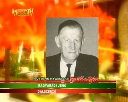 Magyaradi Jeno 1899 - 1987
