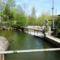 Lajta folyó üzemvízcsatornája a Werkskanal Wasenbruck (A), 2017. április 17.-én 1