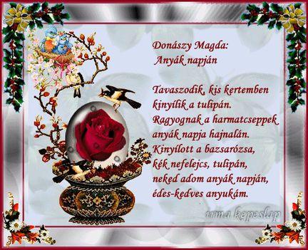 Donászy Magda Anyák napján