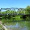 Mosoni-Duna, a Kálnoki híd Mosonban 2016. április 30.-án