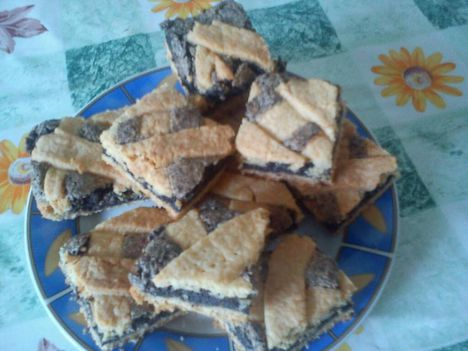 Mákos rácsos süti